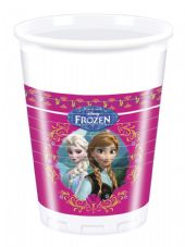 8 Disney Frozen Plastic Party Cups